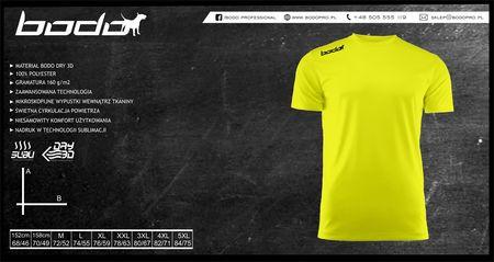 Koszulka BODO PRO żółty fluo (1)