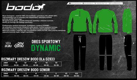 Dres treningowy BODO DYNAMIC zielony-czarny (1)