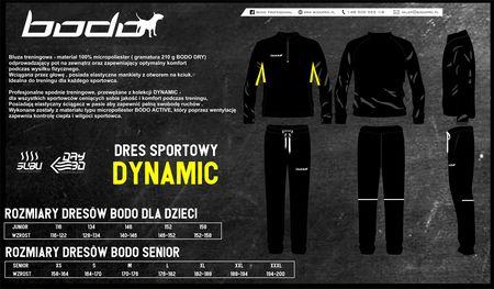 Dres treningowy BODO DYNAMIC czarny-żółty (1)