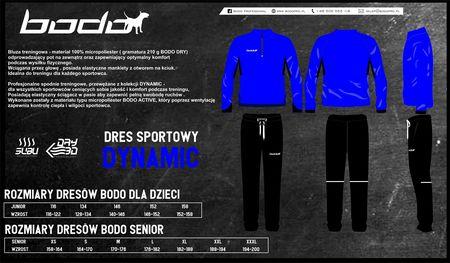 Dres treningowy BODO DYNAMIC niebieski-czarny (1)