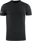 T-shirt COTTON czarny koszulka HEAVY PREMIUM 190g  (1)