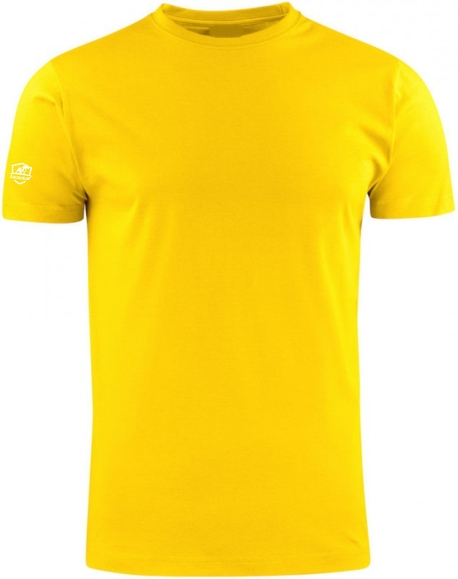 T-shirt COTTON żółty koszulka HEAVY PREMIUM 190g (1)