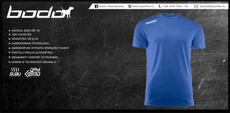 Koszulka BODO PRO niebieska (1)