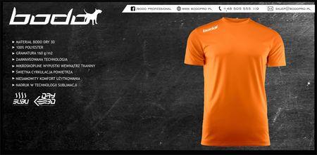 Koszulka BODO PRO pomarańczowa (1)