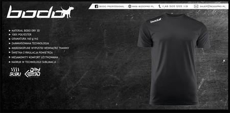 Koszulka BODO PRO czarna (1)