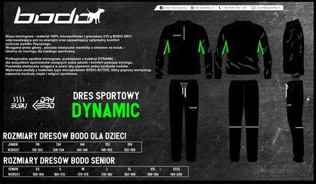 Dres treningowy BODO DYNAMIC czarny-jasny zielony (1)
